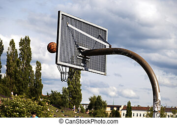 Basket & Ball at the Park