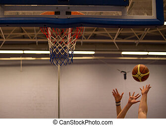 basket-ball, atteindre