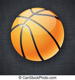 basket-ball, ball.