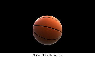 Basket ball breaking window