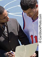 basket-ball, entraîneur