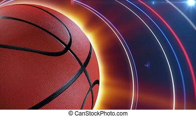 basket-ball, fond