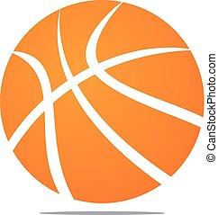 Basket Ball Logo Design Template Vector