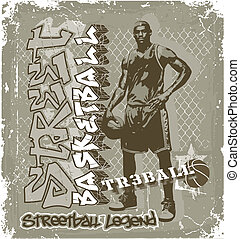 basket-ball, streetball