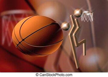 basket-ball, tourner
