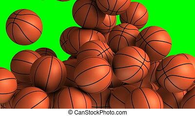 Basket balls transition effect - Basket balls transition...