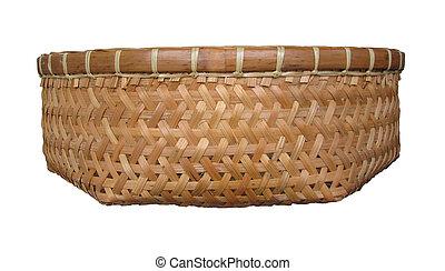 Basket bamboo