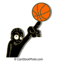 Basket cartoon