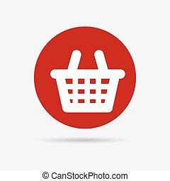 basket graphic design , vector illustration