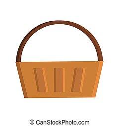 Basket flat icon