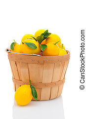 Basket Full of Lemons