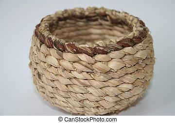 basket III - handmade basket from south korea