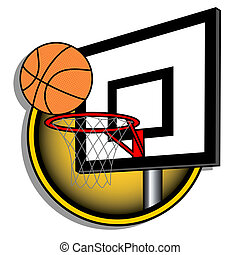 Basket illustration - Design of basket ball illustration