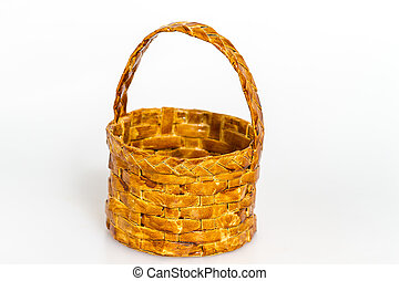 Basket isolated on white