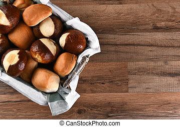 Basket of Assorted Dinner Rolls
