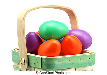 Easter Eggs - Basket of Easter Eggs