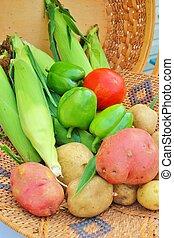 Basket of Vegetables 6