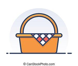 basket., piknik