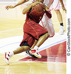 Basket player - A basket champion