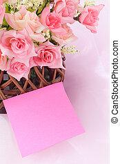 Basket roses