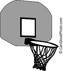 basket silhouette