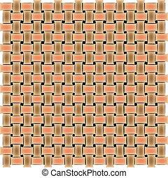 basket texture, vector art illustration; more textures in my...