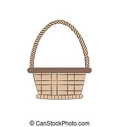 Basket vector illustration