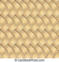 basket weave pattern - a seamless pattern of a weaved...