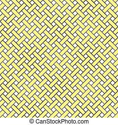 Basket Weave Seamless Pattern - Basket weave seamless...