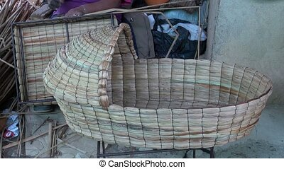 Basket Weaving, Arts & Crafts, Wicker