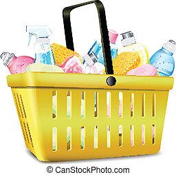 Basket With Detergent