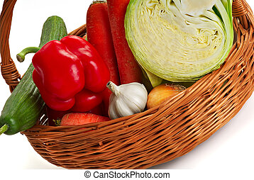 Basket with vegetable - 2