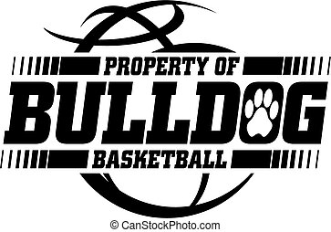 basketbal, bulldog
