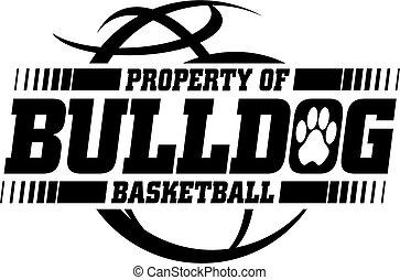 basketbal, bulldog