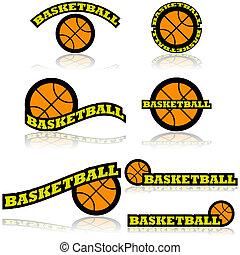 basketbal, iconen