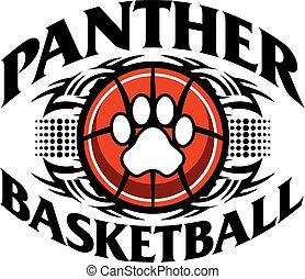 basketbal, panter