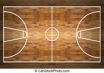 basketbal rechtbank