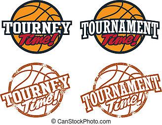 basketbal, toernooi, grafiek