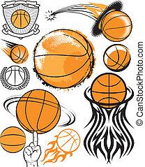 basketbal, verzameling