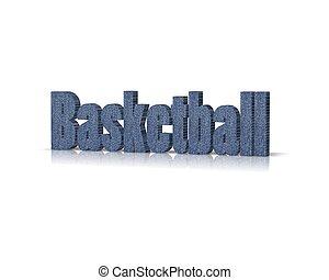 basketball 3d word