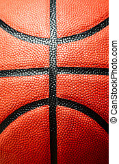Basketball - A closeup (macro) shot of a basketball
