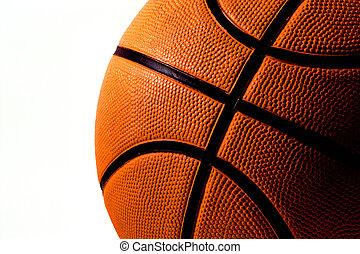 Basketball - A colligiate basketball ready for a game.