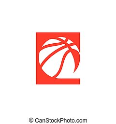 Basketball abstract sign - Branding Identity Corporate...