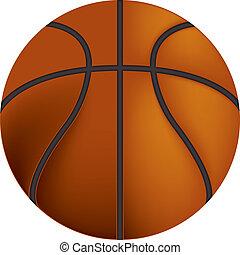 Basketball - An image of a basketball