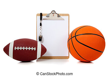 Basketball and American football oard