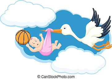 Basketball Baby Girl