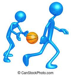 Basketball Back Pass