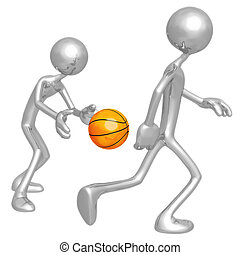 Basketball Back Pass