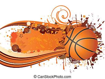 basketball background design