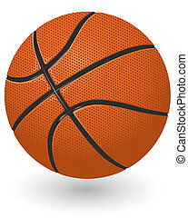 Basketball ball - Detailed basketball ball isolated on the...